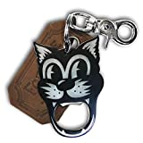 Tom Cat Bottle Opener Key Ring by Trixie & Milo