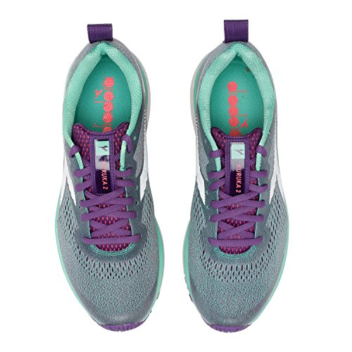 C7311 2 Gascogne De Running Diadora violet Chaussures Kuruka blanc W Vert Femme aq4qR0B