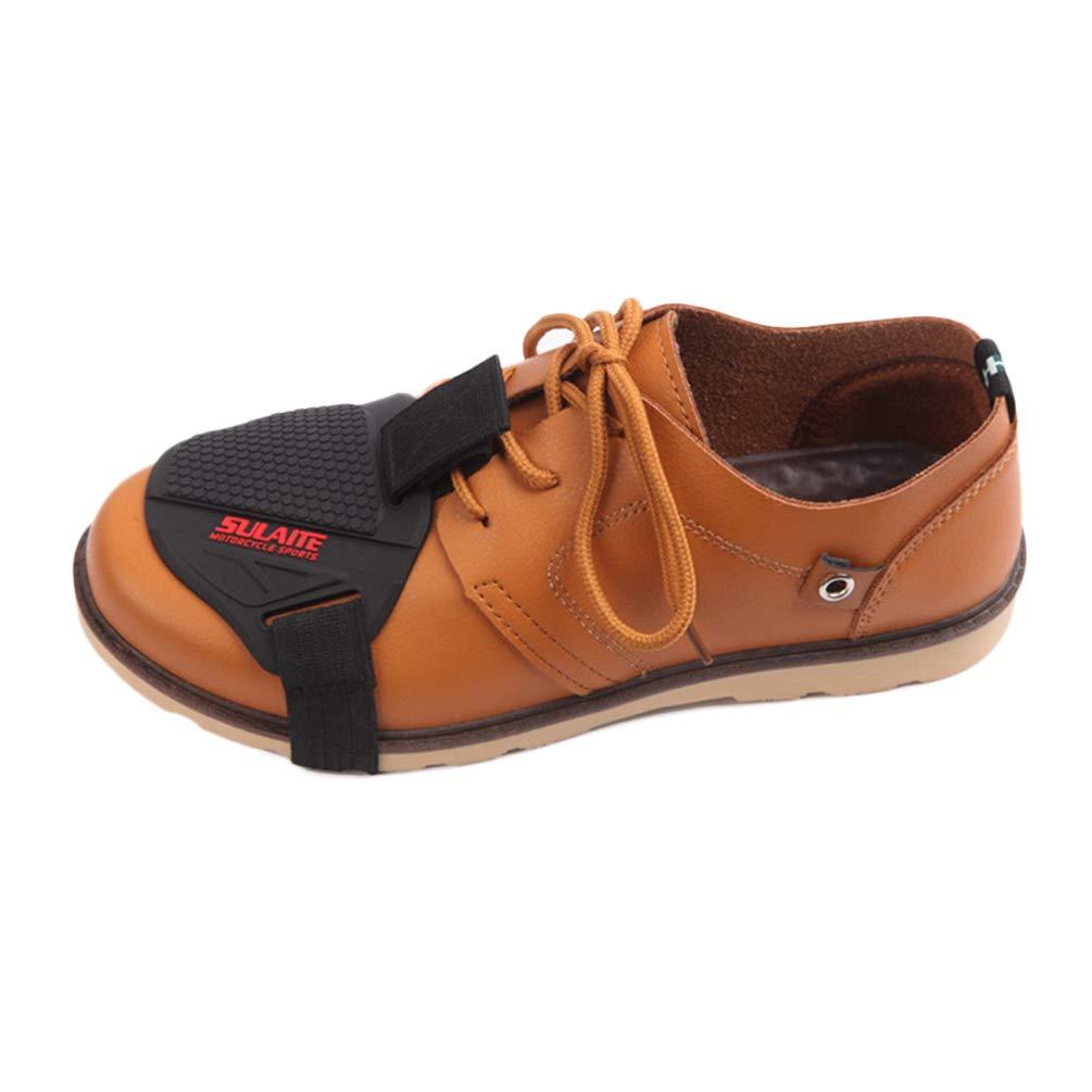Cache Moto pour Chaussure Durable Couvre-Botte /à Protection Portatif R/ésistant /à lusure pour Moto pour Chaussures /à Protection