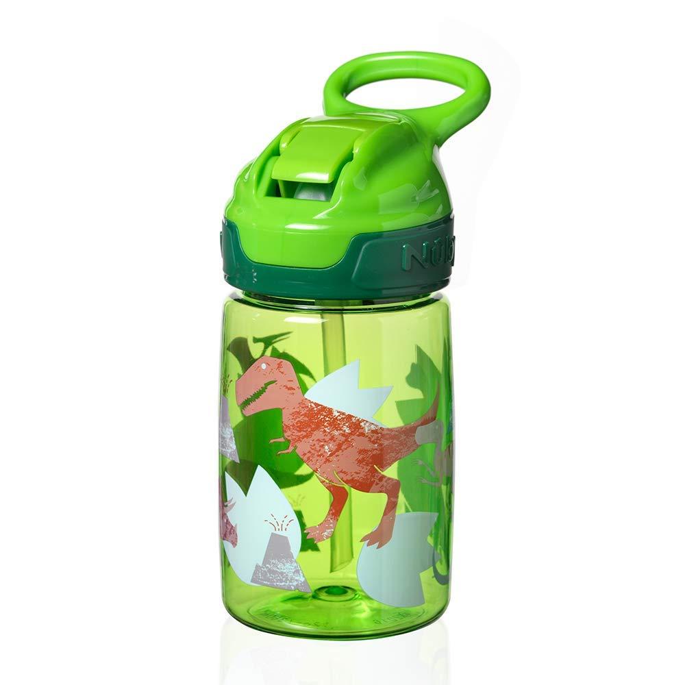 360 ml Incredible Gulp Active Tasse pour tout-petits Dinosaure Vert Nuby Tritan Sippy Cup