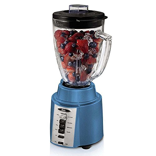 Oster Rapid Blend 300 Plus 8-Speed 6-Cup 450 Watt Blender w/Boroclass Glass Jar