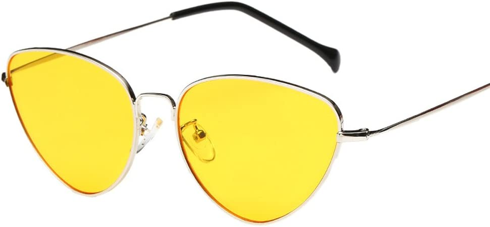 White Sunday 88 Clearance Sale Fashion Women Oversized Sunglasses Vintage Cat Eye Sun Glasses