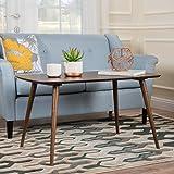 Archian Walnut Wood High Coffee Table For Sale