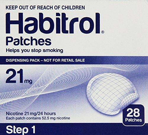 Novartis Nicotine Transdermal System Stop Smoking Aid Patch, Step 1, 21 Mg - 28 Ea