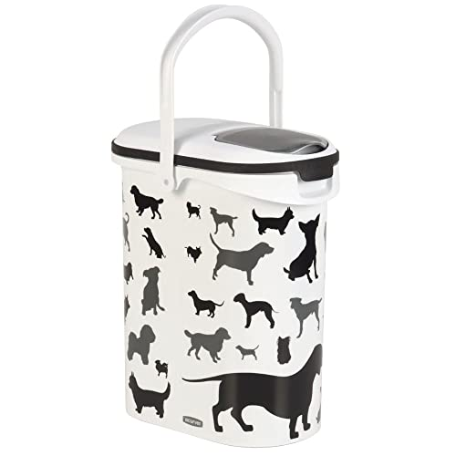 Curver Pet Dry Food Container Dog, 10 Litre