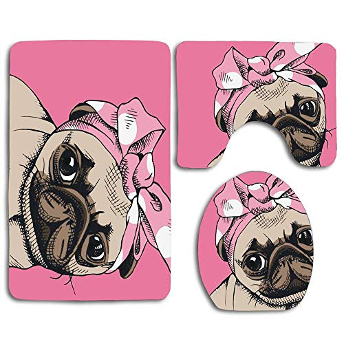 NEWcoco Bulldog with Pink Bow
