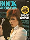 Rock Superstars 1975 David Bowie Poster Magazine No. 2 Large Fold Out Also Includes Slade Feature
