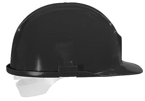 workbase casco de seguridad, negro: Amazon.es: Bricolaje y herramientas