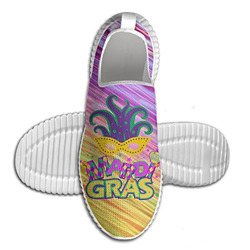 Karneval-Masken-Partei-leichte Breathable zufällige Sport-Schuhe Mode-Turnschuhe gehende Schuhe Weiß