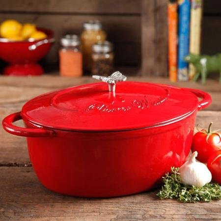 Pioneer-Woman-Timeless-Beauty-7-quart-Dutch-Oven-with-Bakelite-Knob-and-Stainless-Steel-Butterfly-Knob