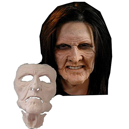 Haggis Old Witch Hag Mask Foam Latex Prosthetic Professional Grade Theater Appliance ()