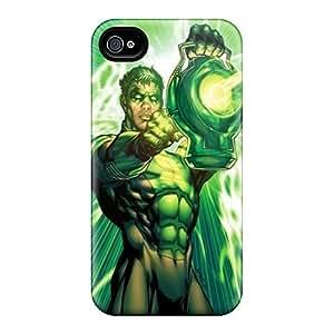 Bumper Cell-phone Hard Cover For Iphone 6 (GoK5037wgCD) Custom High-definition Green Lantern I4 Pattern
