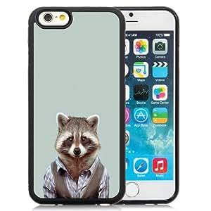 NEW Unique Custom Designed iPhone 6 4.7 Inch TPU Phone Case With Yago Portal Zoo Portraits Common Raccoon_Black Phone Case wangjiang maoyi by lolosakes