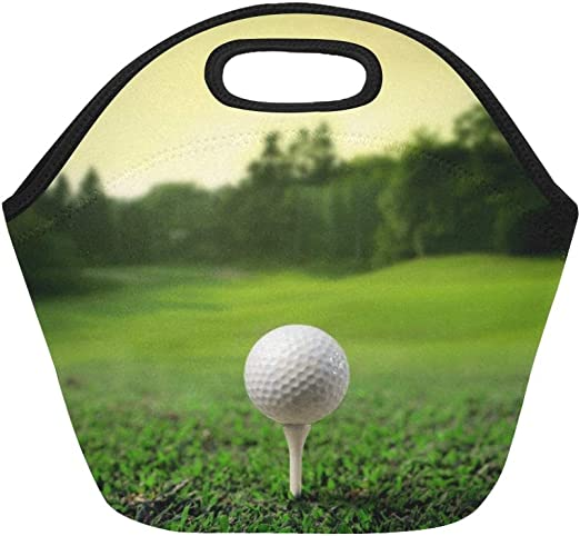 Bolso de golf con aislamiento de neopreno Pelota de golf en el ...