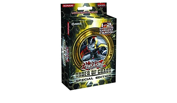YuGiOh Order of Chaos SE Special Edition Pack 3 Booster ...