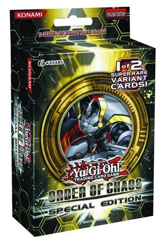 YuGiOh Order of Chaos SE Special Edition Pack 3 Booster Packs 1 Random Promo Card Chaos Special Edition Pack