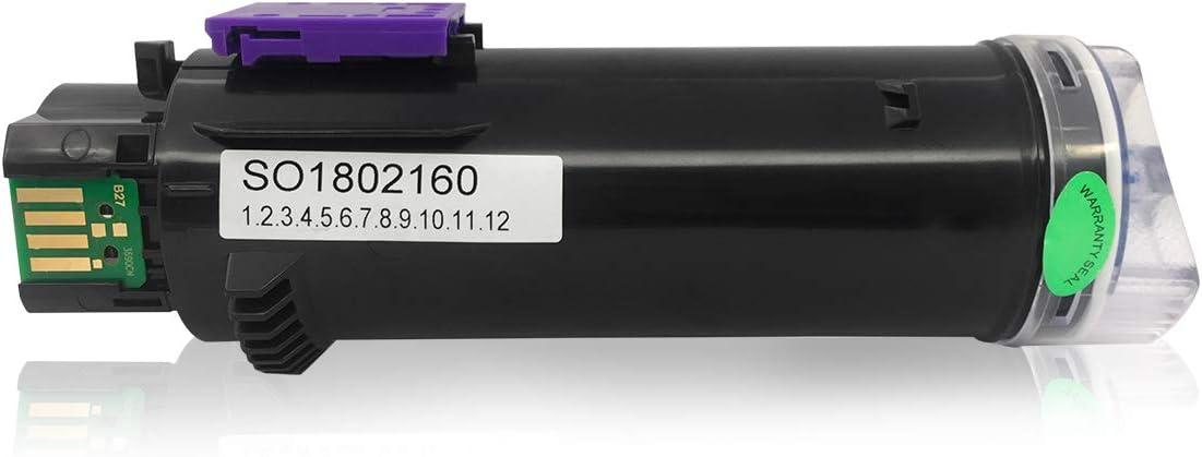Cartucce Toner Compatibili 4 Colori per Xerox Phaser 6510 6510V//N 6510V//DN 6510V//DNI WorkCentre 6515 6515V//N 6515V//DN 6515V//DNI GREENPRINT pi/ù Alto Rendimento di 5500 Pagine Nero e 4300
