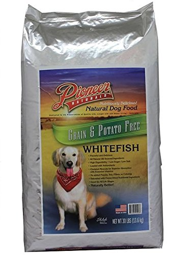 Pioneer Naturals Grain & Potato Free Formula Dog Food, Whitefish, 30-Pound