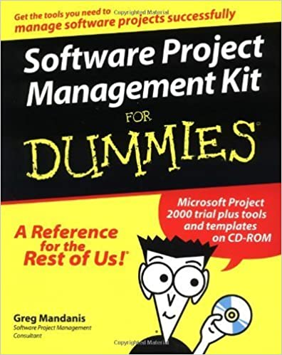 Software Project Management Kit For Dummies? (For Dummies (Computers)) by Greg Mandanis (2000-05-11)