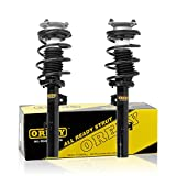 Front Pair Quick Strut Complete Assembly Shock Abs