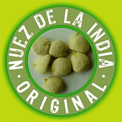 Nuez De La India 100% Original Authentic Indian Nut Weight Loss - 5 pack (60 nuts total) from Nuez de La India