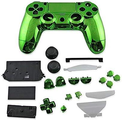 Carcasa Completa para Mando de Playstation 4 JDS-001 PS4 001 Verde: Amazon.es: Electrónica