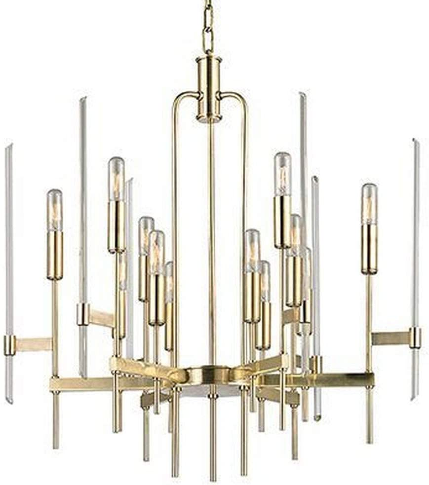 Shop Hudson Valley Lighting 9912-AGB Bari from Amazon on Openhaus