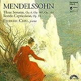 Mendelssohn: Three Sonatas,Rondo Capriccioso by Frederic Chiu (1993-10-29)