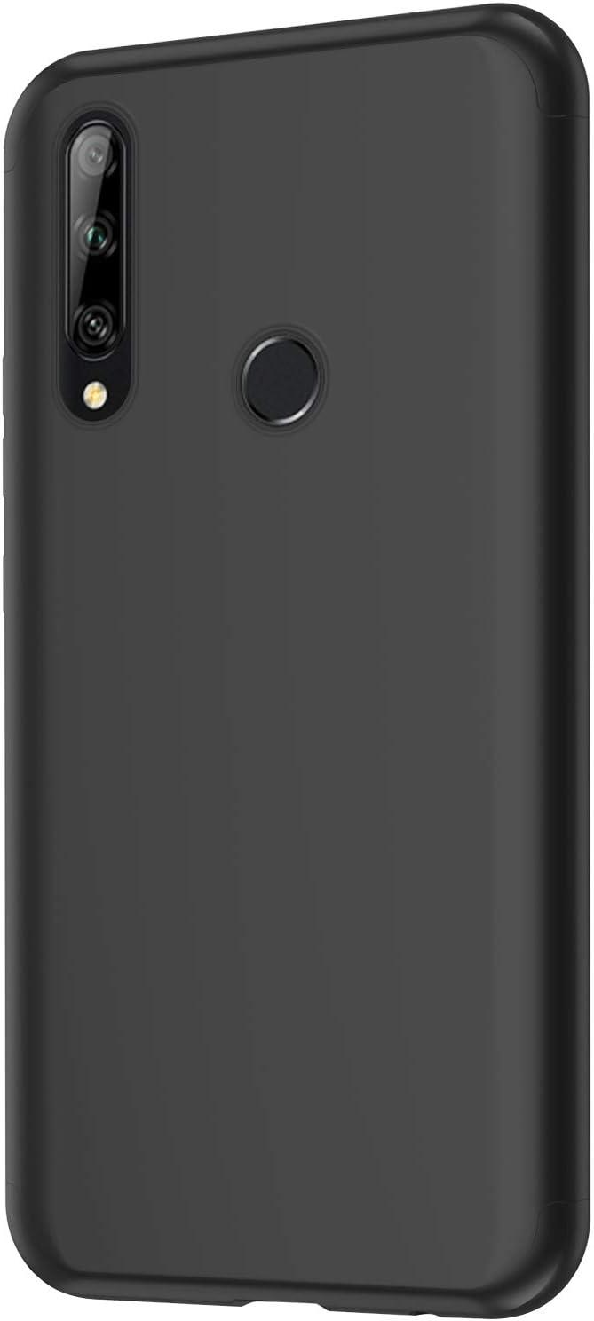 Saceebe kompatibel mit Huawei Y9 prime 2019//P smart Z//enjoy 10 plus H/ülle PC Hart,360 Grad Schutz Gl/änzend Glatt Einfarbig PC Backcover Hart Handyh/ülle PC Cover Case Schutzh/ülle Sto/ßfall,Rot+schwarz