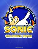 Sonic Coloring Book: Coloring Book for Kids. Aged 3 - 9