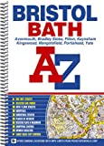 Front cover for the book Bristol and Bath A-Z (Street Atlas) by Geographers' A-Z Map Company