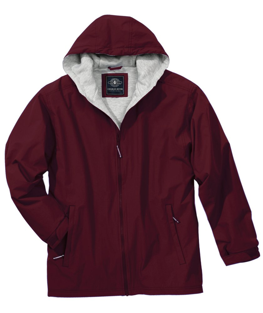 Charles River Men's Enterprise Jacket Maroon 5XL by Charles River Apparel