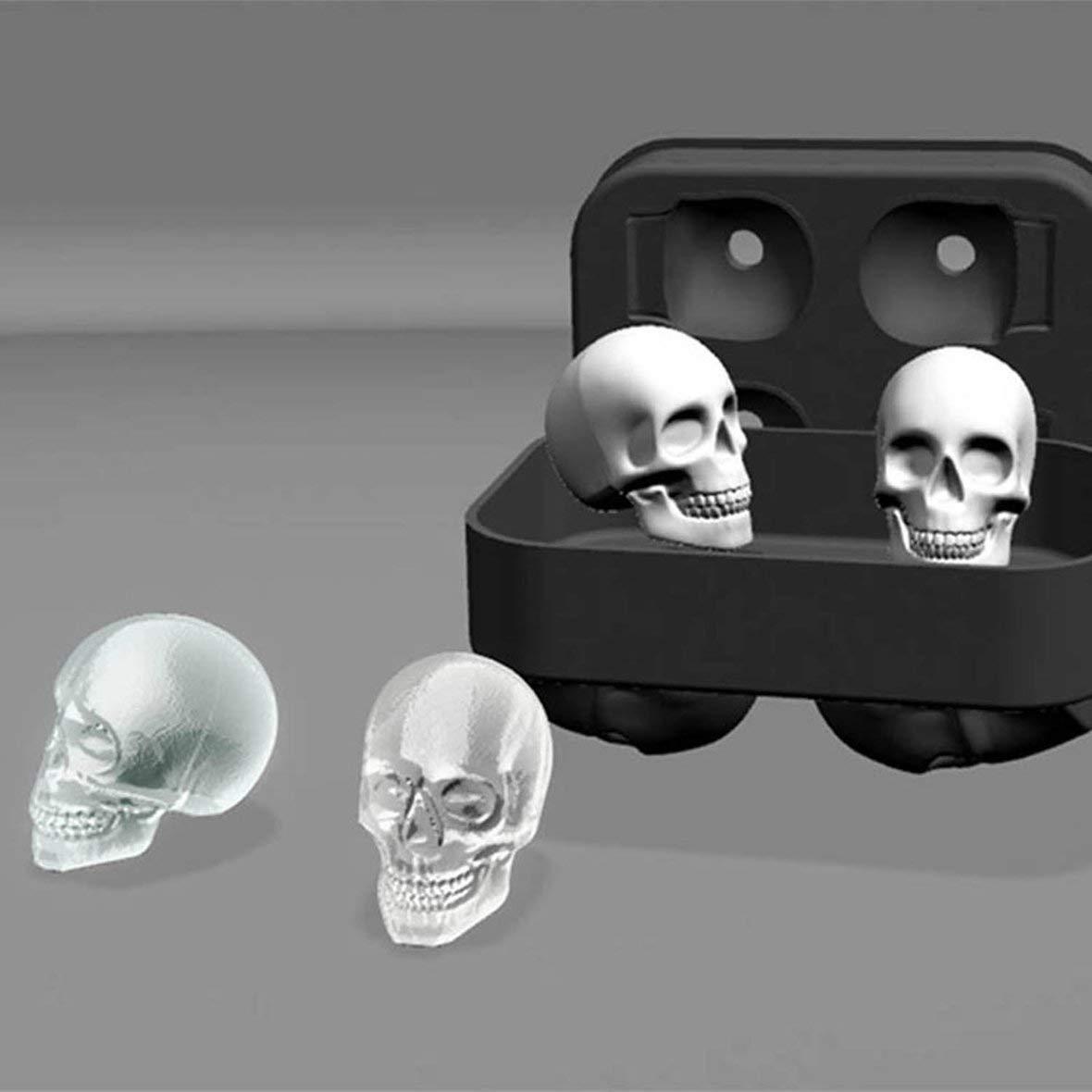 Heaviesk Esqueleto de Alimentos Modelo de Pastel de Bricolaje Hielo celos/ía Gel de s/ílice