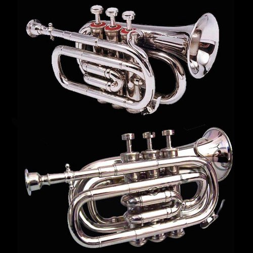True Bb Zweiss Pocket Cornet, British Designed. A Real Cornet, Not a Pocket Trumpet!