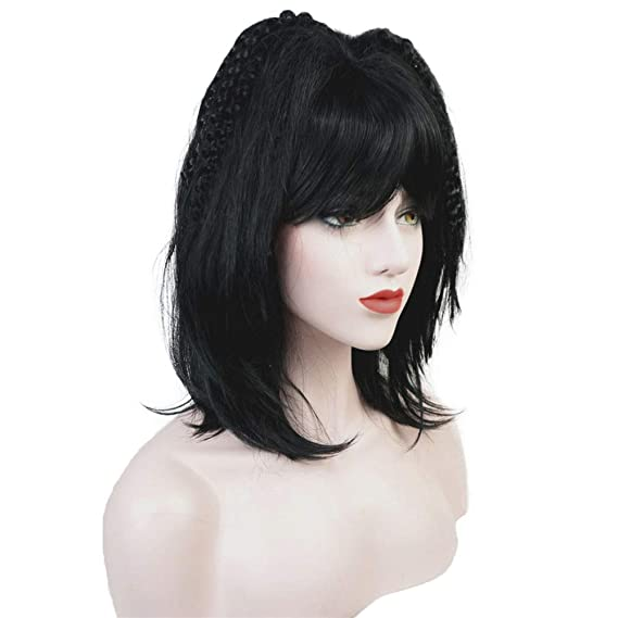 Amazon.com : Wiginway Cosplay Wigs Black Party Wig Lolita Wigs Womens Full Synthetic Hair Wigs 3 Color : Beauty