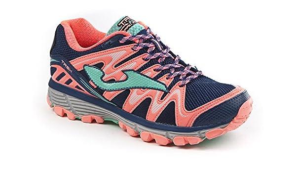 JOMA Trek Lady, Zapatillas de Running para Asfalto para Mujer, Azul (Navy), 40 EU: Amazon.es: Zapatos y complementos