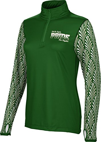 Price comparison product image ProSphere Women's East Los Angeles Community College Deco Half Zip Long Sleeve