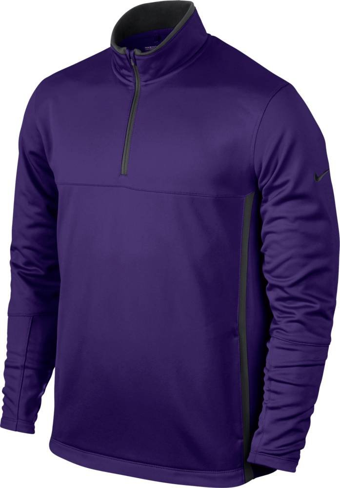 Nike Golf CLOSEOUT Men's Therma-FIT Cover-Up (Court Purple/Dark Grey) 686085-527 (Medium) by NIKE