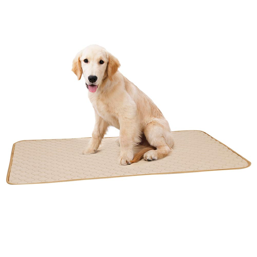 Tutuba Reusable Pee Pads for Dogs,Waterproof Anti-Slip Super Absorbing Leak Proof Training Pad for Dog by Tutuba
