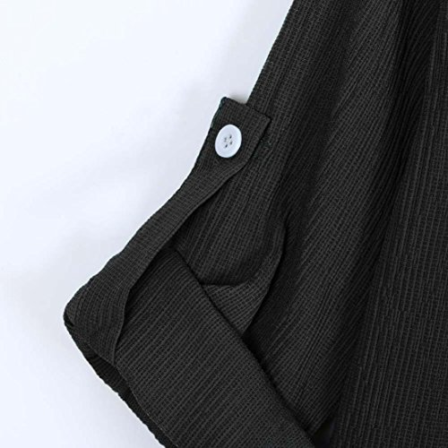 Tops Femme Sweat Manteau Shirt Yoga Casual T Lâche Shirt de Manche Beikoard Femme T Femme Chemisier Noir Blouse Femme Debardeur Sport Tee Femme Shirt Longues xvwRqAF