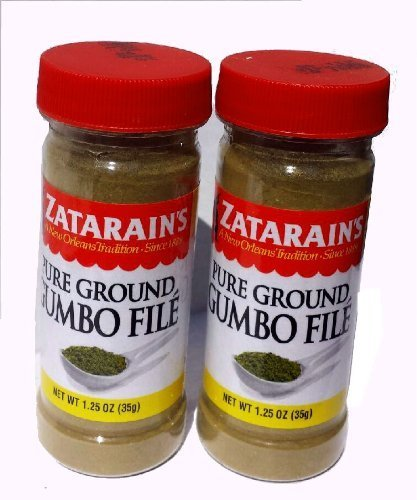 Zatarains Pure Ground Gumbo File (Set of - Chacheres Tony File Gumbo