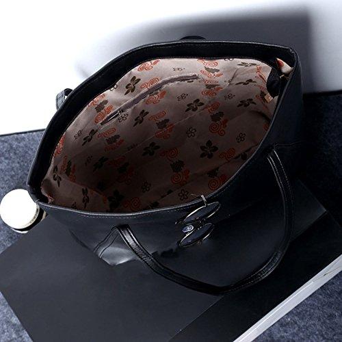 ORIGINALTREE , Damen Tote-Tasche, schwarz (schwarz) - MGP0194401Y30MP5754 weinrot
