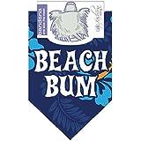 Dog Fashion Living- Beach Bum Blue Dog Bandana