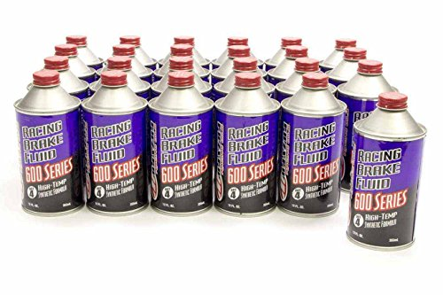 Maxima 80-87912 Synthetic DOT 4 Racing Brake Fluid - 12 oz. Bottle (Racing Maxima)