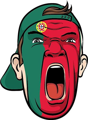 Portugal Europe Football Fan National Fl - Portugal Face Shopping Results