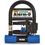 Oxford Unisex D Duo Max Alarmed Shackle, Black/Blue, One Size