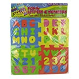 72 Foam letter and number puzzle