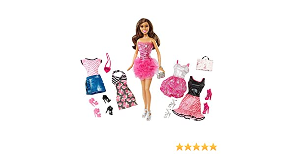 Amazon Barbie Malibu Avenue Nikki Doll Fashion Giftset Toys Games