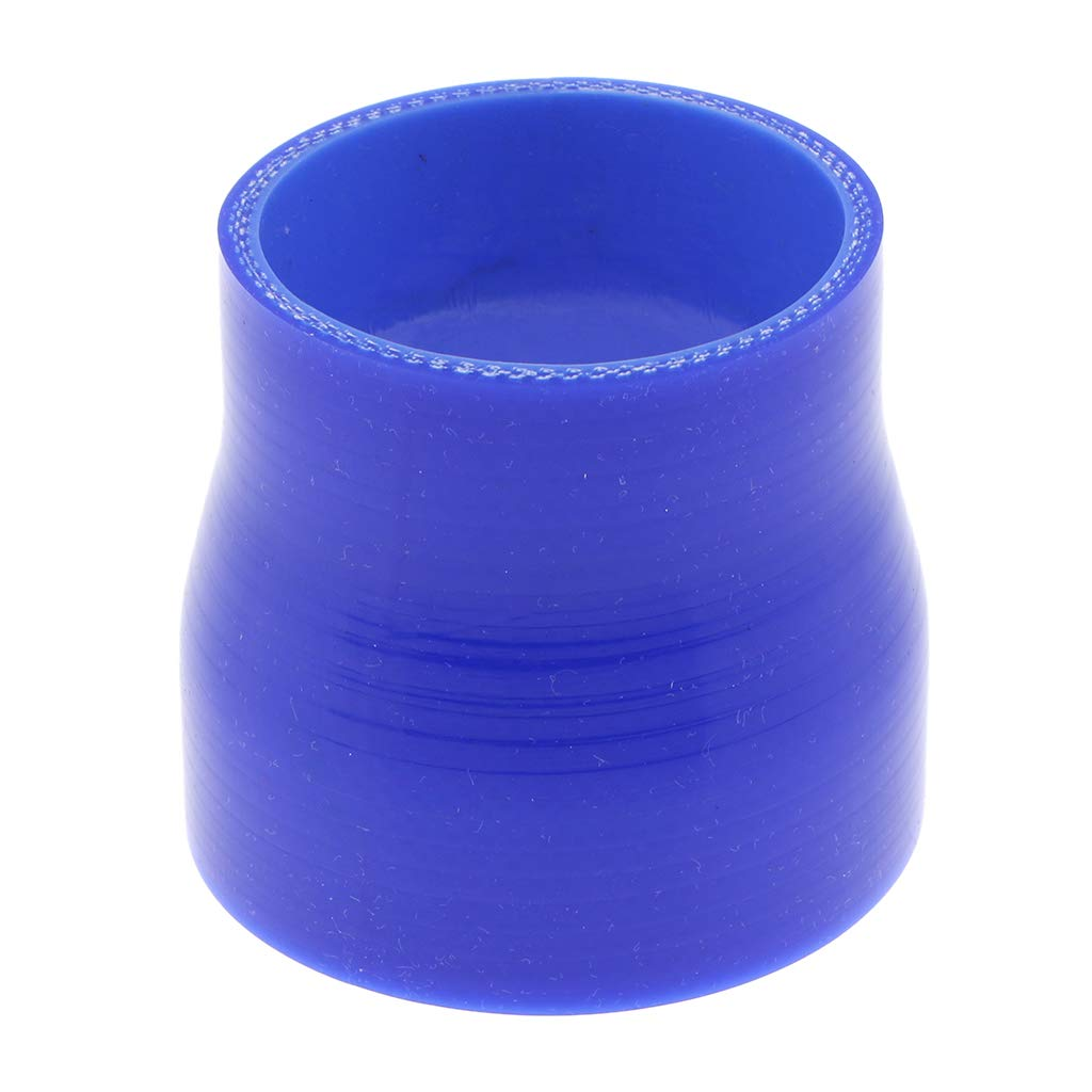 Black Reinforced High Temperature 4-Ply Almencla 3 to 3.5 inch ID Reducer Silicone Coupler