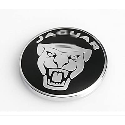 2pcs Jaguar XF XJ XE F-PACE Car-Styling Engine Start Stop Button Cover Cap Trim Wiper lamp Control (Black): Automotive